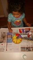 painting pumkin